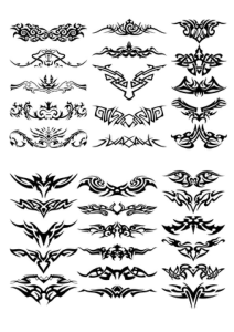 Tattoo Design Free Vector Cdr