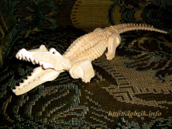 Crocodile 3D Puzzle Free Vector Cdr