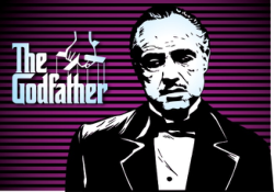 Marlon Brando Godfather Poster Free Vector Cdr