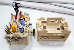 Amazing Tool Organizer Lasercut Free Vector Cdr