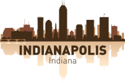 Indianapolis Skyline Free Vector Cdr