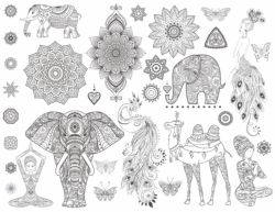 Ornamental Set Free Vector Cdr