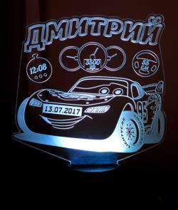 Автомобили 3d ночной свет Free Vector Cdr