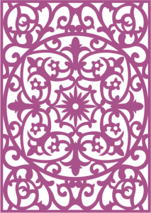Laser Cut Vector Panel Seamless 204 Free Vector Cdr