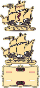 Sailing Pirate Ship Laser Cut Free Vector Cdr