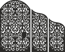 Decorative Screen design vector Free Vector Cdr