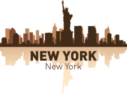 New York Skyline Vector Art Free Vector Cdr