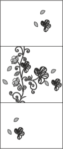 Wardrobes Doors Floral Design Vector Free Vector Cdr
