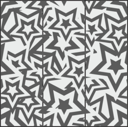 Star Seamless Pattern Free Vector Cdr