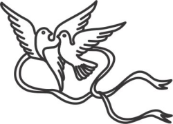 Vector Pigeon couple Free Vector Cdr