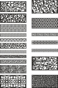 Free Patterns for Laser Cutting Free Vector Cdr