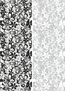 Seamless Flowers Sandblast Pattern Free Vector Cdr