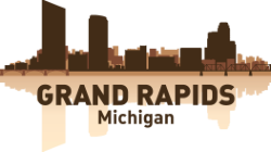 Grand Rapids Skyline Free Vector Cdr