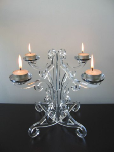 Candle Holder Laser Cut Free Vector Cdr