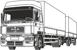 Truck Vector Free Vector Cdr