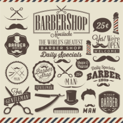 Barbershop Vector Design Free Vector Cdr