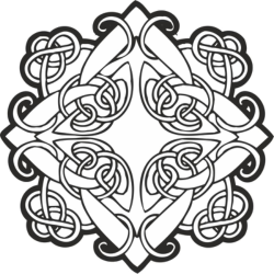 Celtic ornament vector Free Vector Cdr