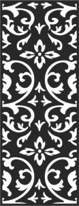 Black and white seamless vintage pattern Free Vector Cdr