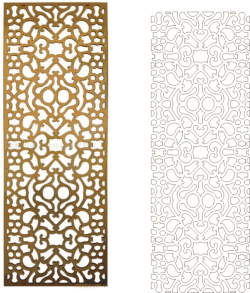 Ornamental Vector Art Pattern Free Vector Cdr