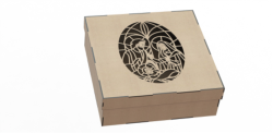 Wood Laser Cut Box Free Vector Cdr