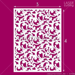 Die Cut Ornamental Panel Seamless Pattern Vector Free Vector Cdr