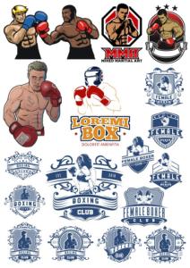 Boxer Vector Illustration Vector HD Free Vector Cdr