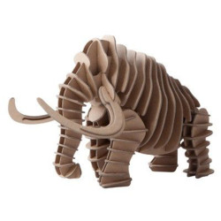 Mammoth 3D Puzzle Free Vector Cdr