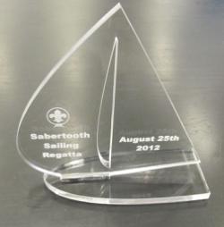 Laser Cut Acrylic Trophy Free Vector Cdr