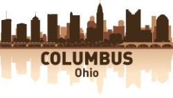 Columbus Skyline Free Vector Cdr