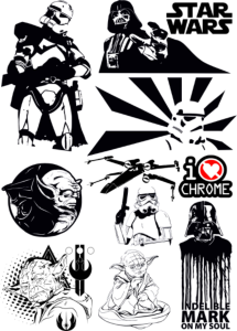 Star Wars Vectors Pack Free Vector Cdr