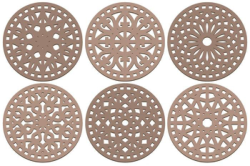 Coasters Laser Cut Decorative Vectors Free Vector Cdr