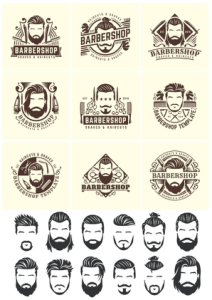 Barbershop Vector Set Free Vector Cdr