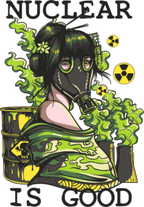 Nuclear Print Free Vector Cdr