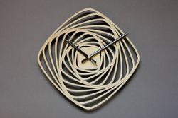 часы квадраты спиралью Free Vector Cdr