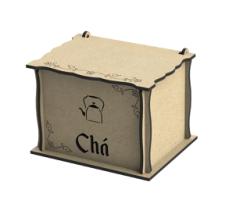 Caixa Para Chas Free Vector Cdr