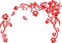 Floral Scrolls Vector Art Free Vector Cdr