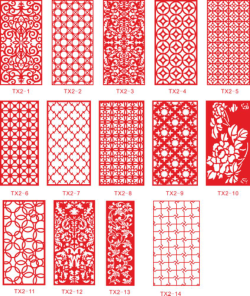 Ornamental Panel Jali Design Vectors Free Vector Cdr