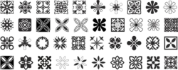 Decorative Ornaments Vector Pack Free Vector Cdr