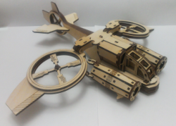 Helicóptero Banshi Avatar Sa-2 Samson Similar. Mdf Laser Free Vector Cdr