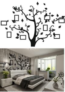 Tree Photo frame Free Vector Cdr