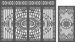 CNC Plasma Gate Free Vector Cdr