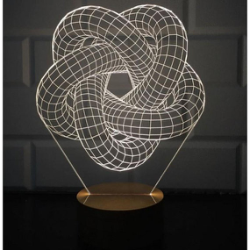 3D Torus Spiral Lamp Free Vector Cdr