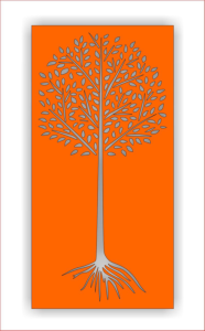 Laser Cutting Tree Screen Pattern Free Vector Cdr