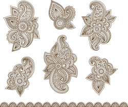 Vector Illustration Of Mehndi Ornament Free Vector Cdr