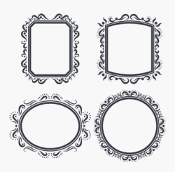 Floral Frame Vectors Free Vector Cdr