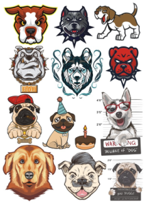 Dogs Vector Set Free Vector Cdr
