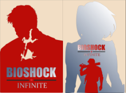 Bioshock Infinite Elizabeth Poster Vector Free Vector Cdr