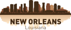 New Orleans Skyline Free Vector Cdr