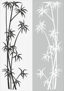 Young Tree Sandblast Pattern Free Vector Cdr