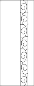Vinyl cabinet design s-011 vector Free Vector Cdr